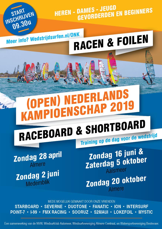 ONK 2019 - Raceboard & Shortboard